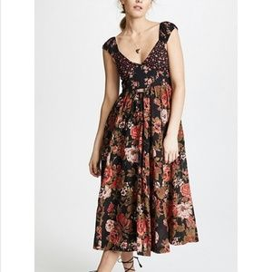 Free People Floral Maxi Dress